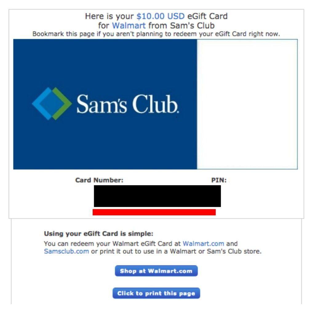 sams club gift card balance 1
