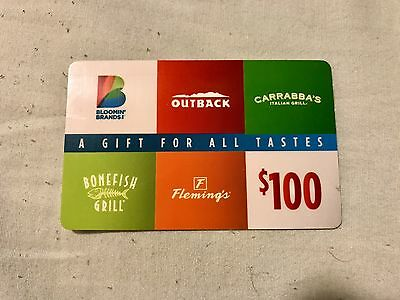bloomin brand gift card 1