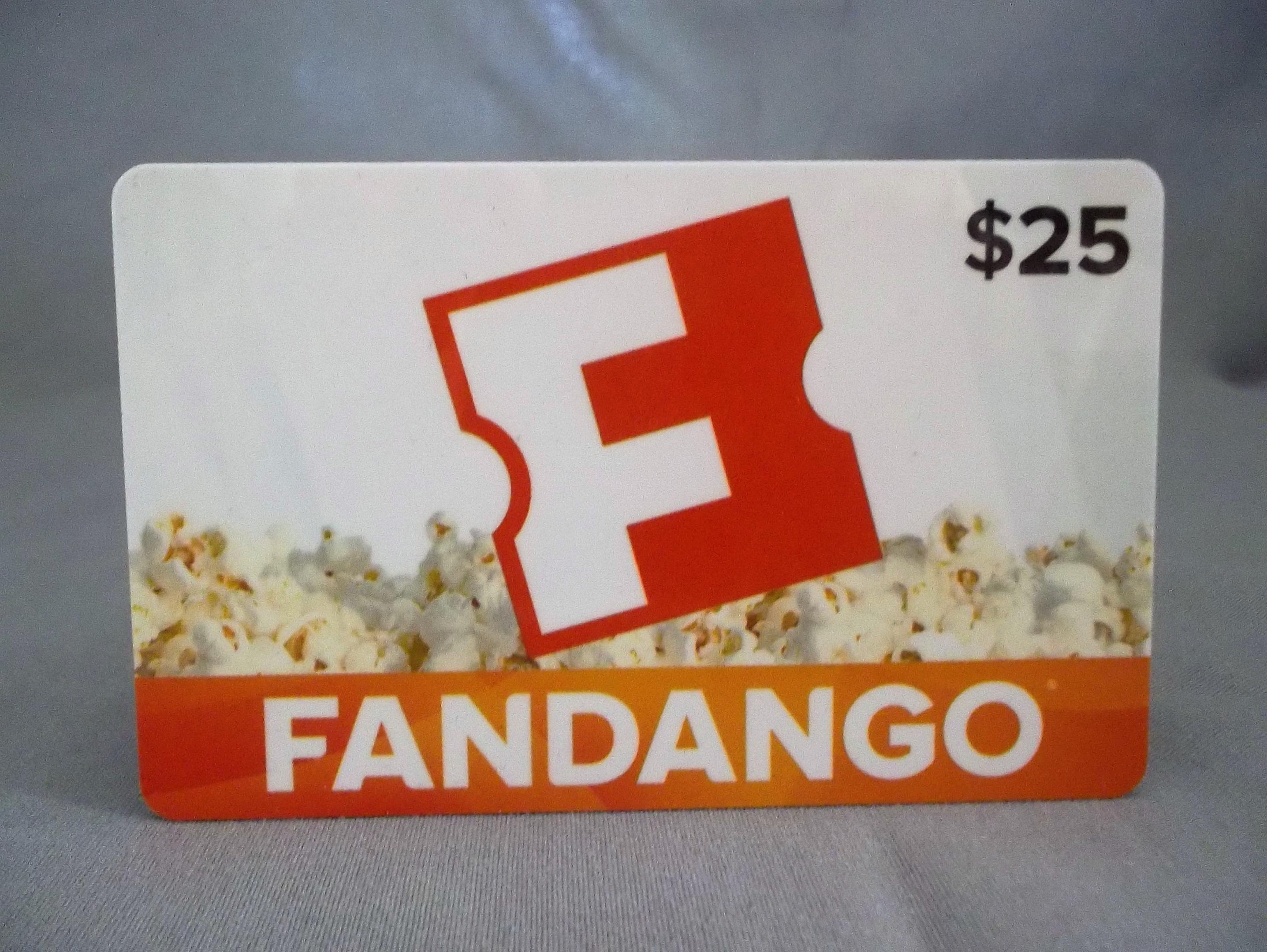 can i use fandango gift card at theater 1