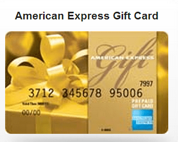 how to cash out american express gift card 1