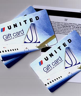 united airline gift card 1