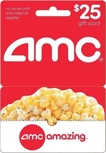AMCtheatres gift card 1