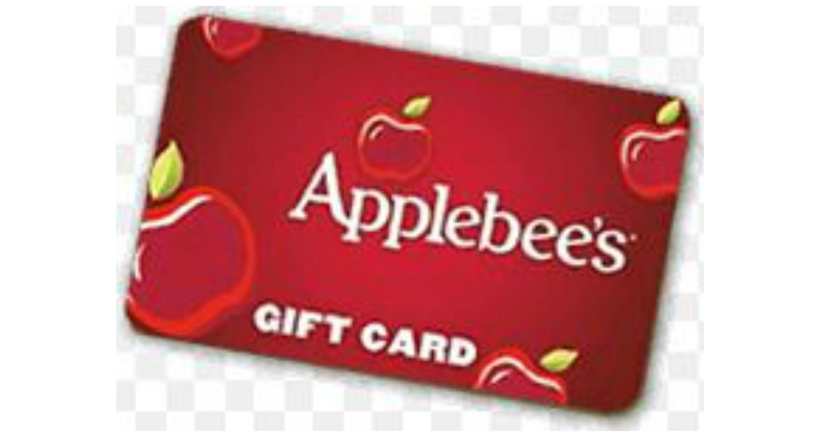 Applebees gift card promotion 1