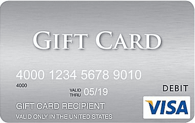 can I get cash back from a Visa gift card 1