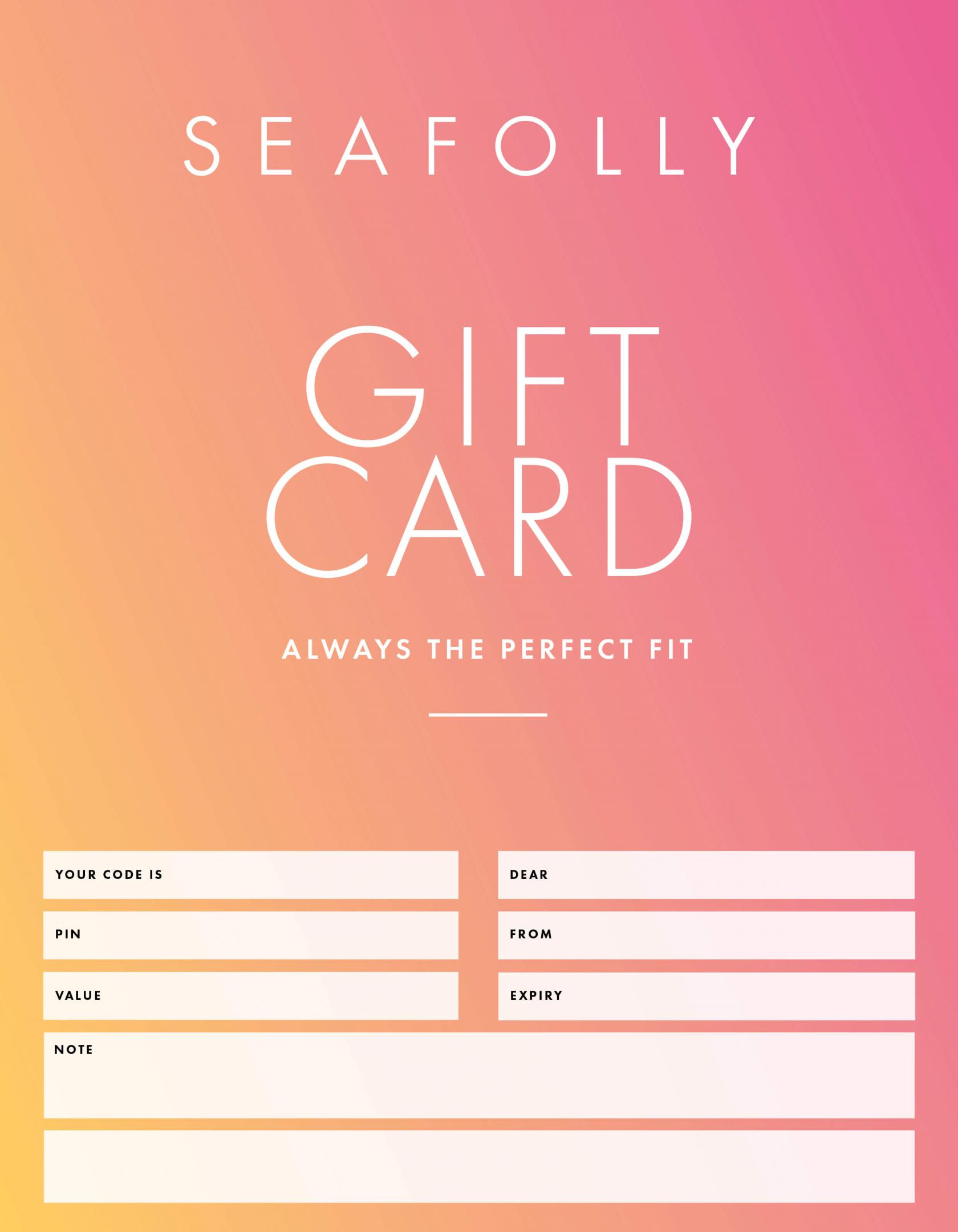gift card emailed 1