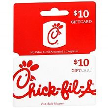how to check Chick Fil a gift card balance 1