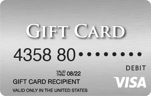how to check amount on visa gift card 1