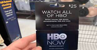 HBOnow gift card