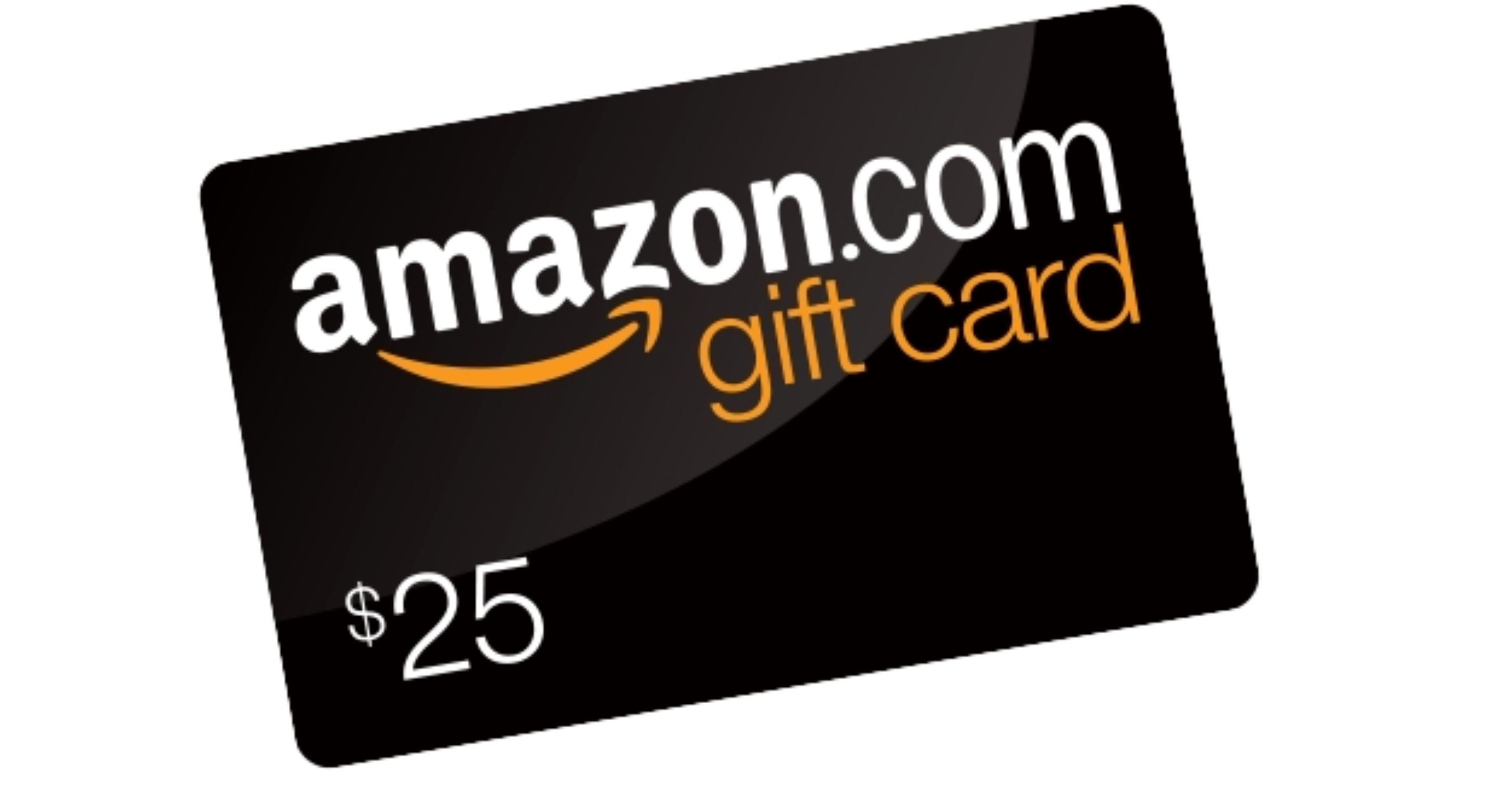 picture of Amazon gift card 1