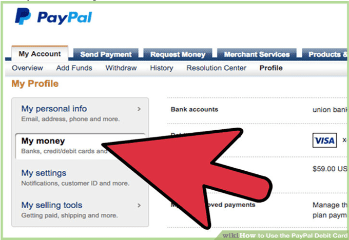 transfer money from a gift card to Paypal 1