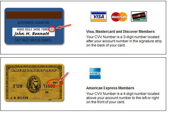 AMEX gift card billing address photo - 1