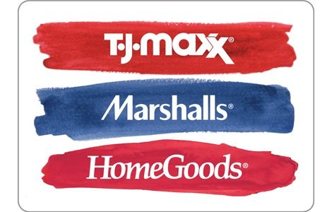 TJ Maxx Marshalls gift card balance photo - 1