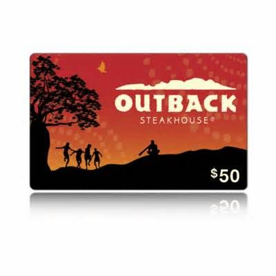 outback steakhouse gift card balance check photo - 1