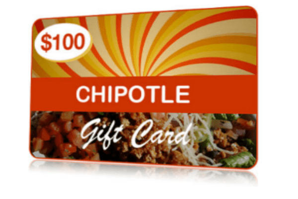 chipotle gift card balance photo - 1