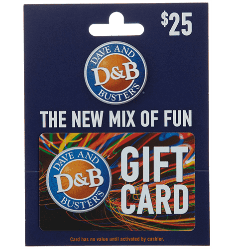 dave and busters gift card balance photo - 1