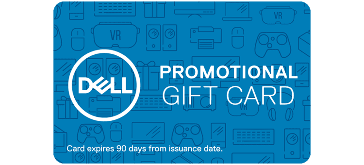 dell promotional gift card photo - 1