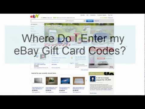 eBay gift card codes photo - 1