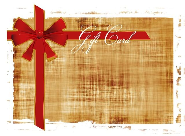 gift card certificate photo - 1