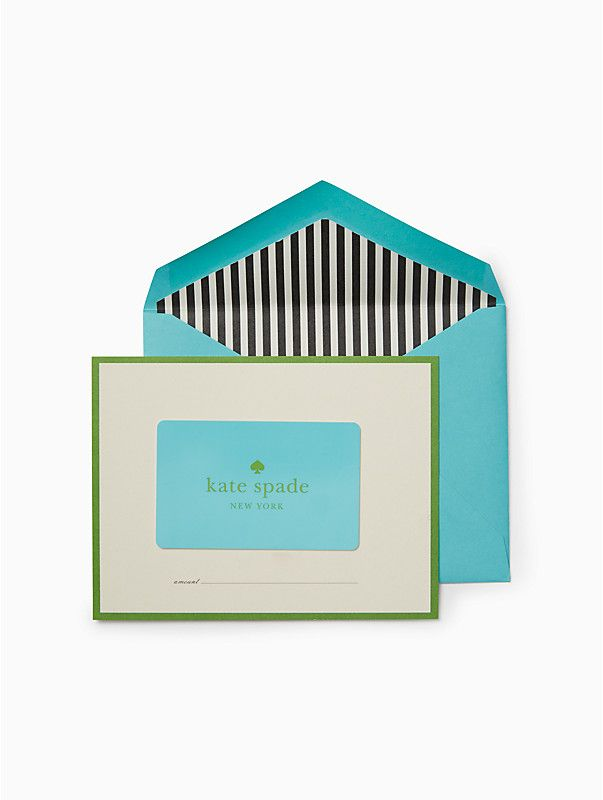 kate spade gift card balance photo - 1