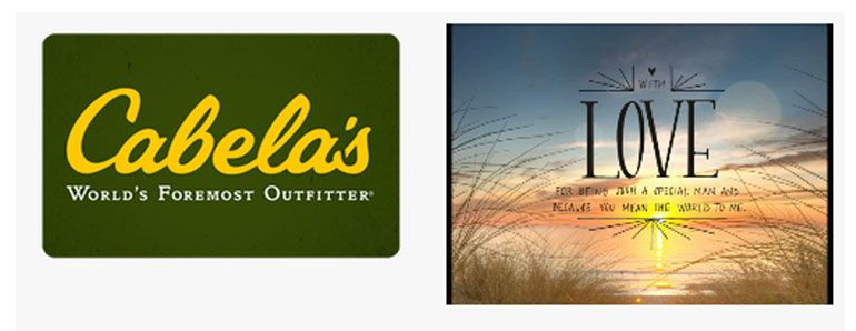 where can I buy a Cabelas gift card photo - 1