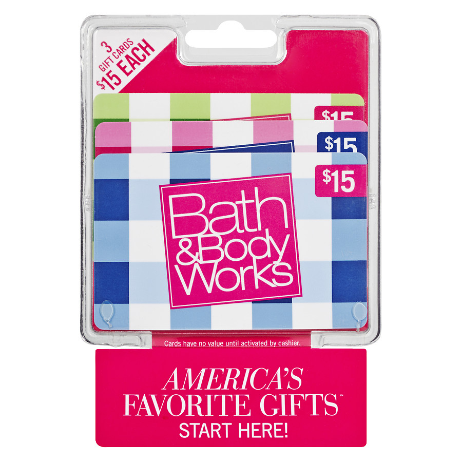 Check bath and body works gift card