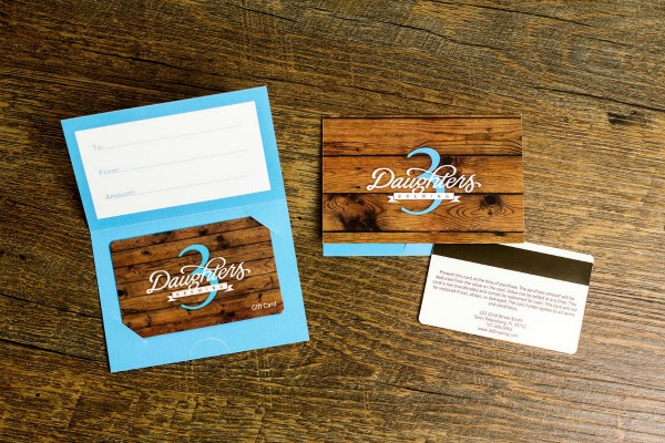 Gift card design ideas