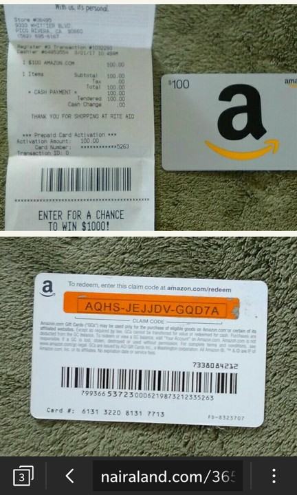 Amazon gift card cash back photo - 1