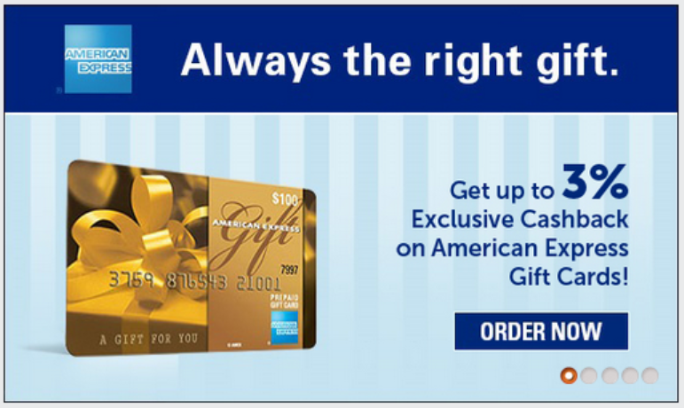 Amex gift card no fee photo - 1