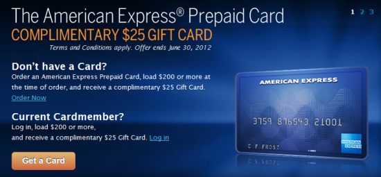 Amex gift card to bank account photo - 1
