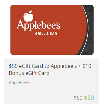 Applebees gift card deals photo - 1