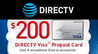 DirecTV Visa gift card 2016 photo - 1