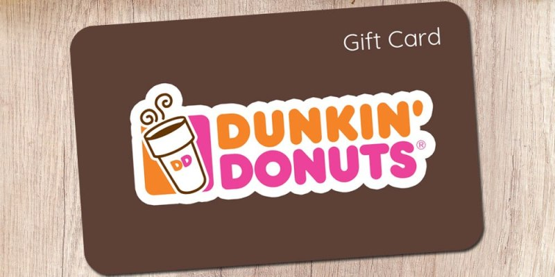 Dunkin donuts e gift card photo - 1
