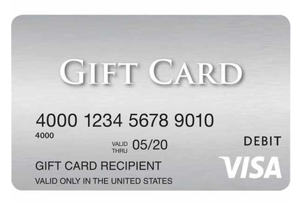 MasterCard gift card cash back photo - 1