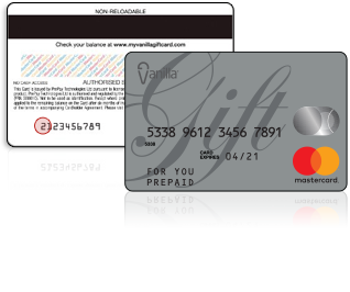 Mastercard gift card number photo - 1