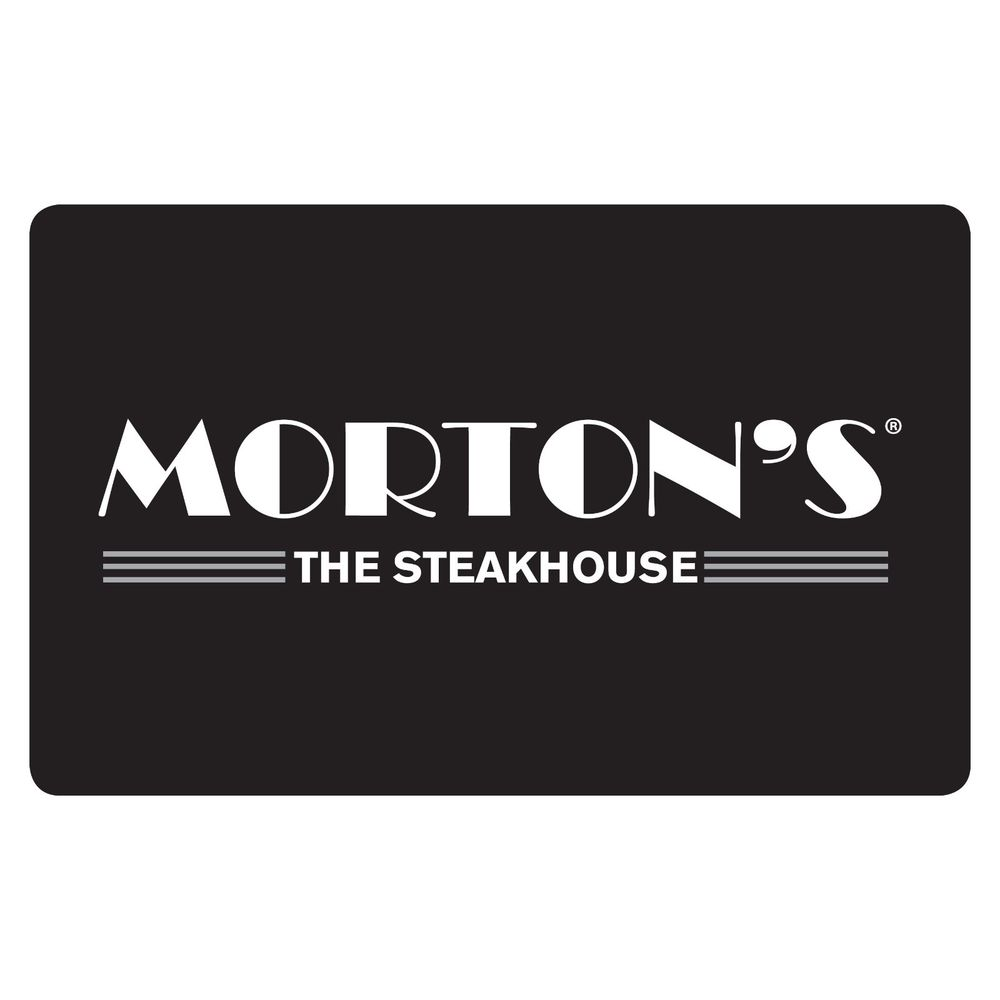 Mortons steakhouse gift card photo - 1