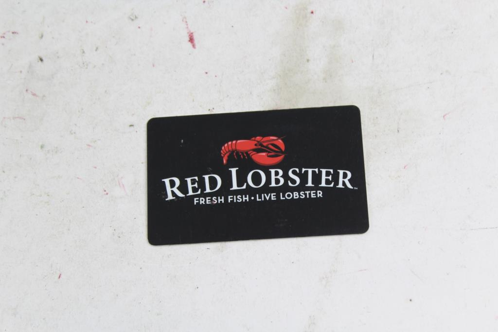 Red Lobster gift card amount photo - 1