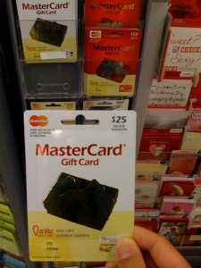 activate Vanilla Mastercard gift card photo - 1