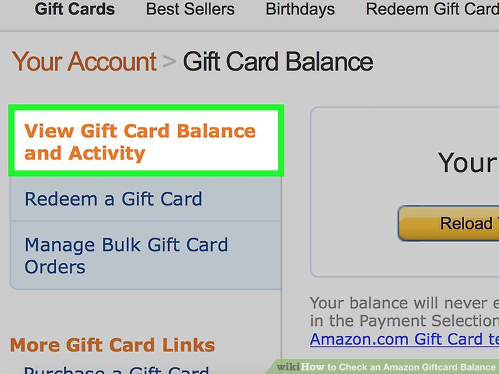 amazon gift card balance check photo - 1