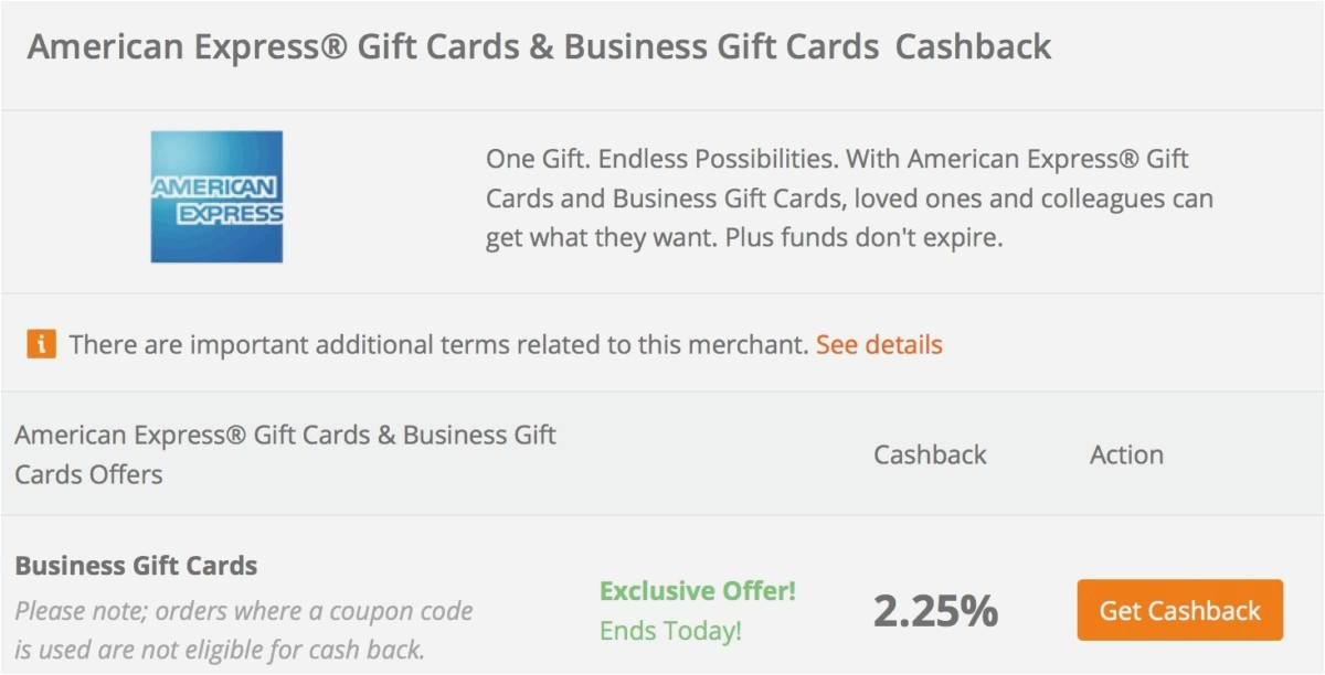 amex business gift card balance photo - 1