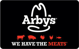 arbys gift card photo - 1