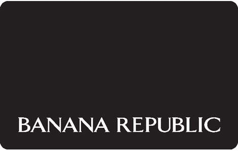 banana republic gift card balance photo - 1