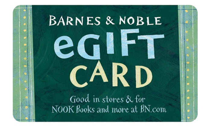 barnes and nobles gift card balance photo - 1