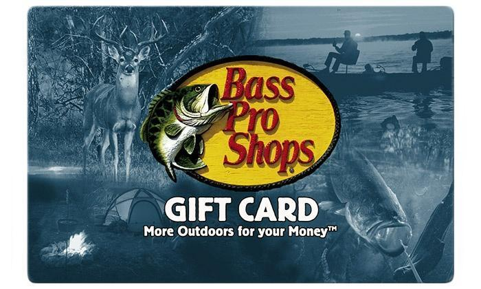 bass pro gift card at cabelas photo - 1