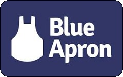 blue apron gift card in mail photo - 1