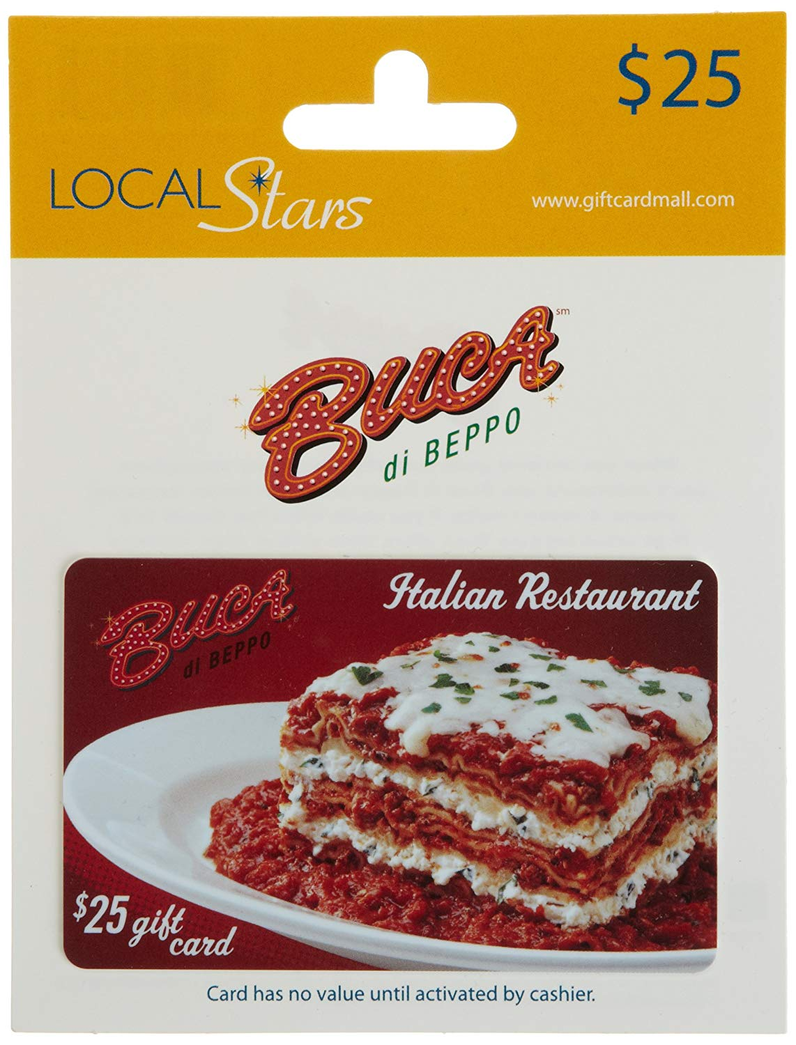 buca di beppo gift card balance photo - 1