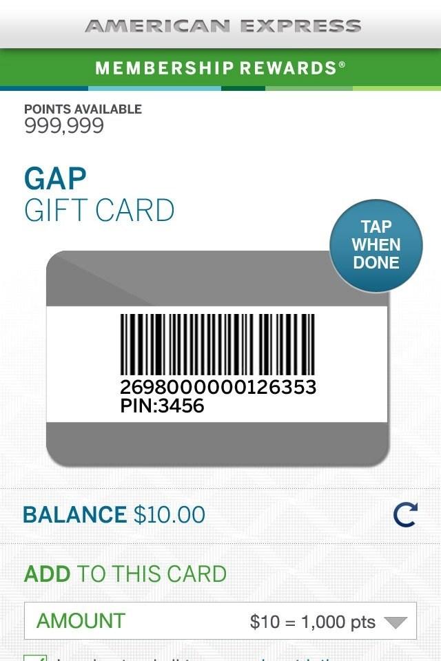 check balance on amex gift card photo - 1