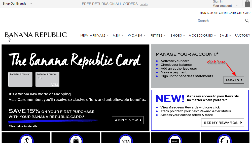 check banana republic gift card balance photo - 1
