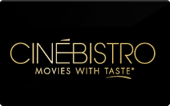 cinebistro gift card photo - 1