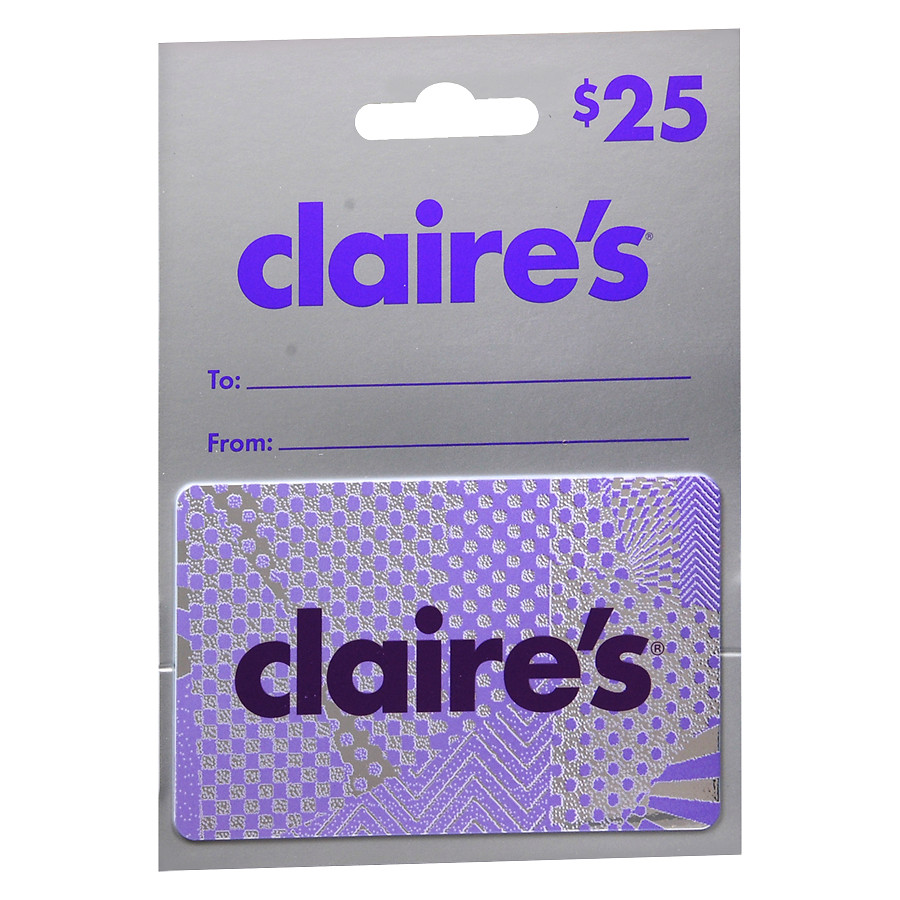 claires gift card balance photo - 1