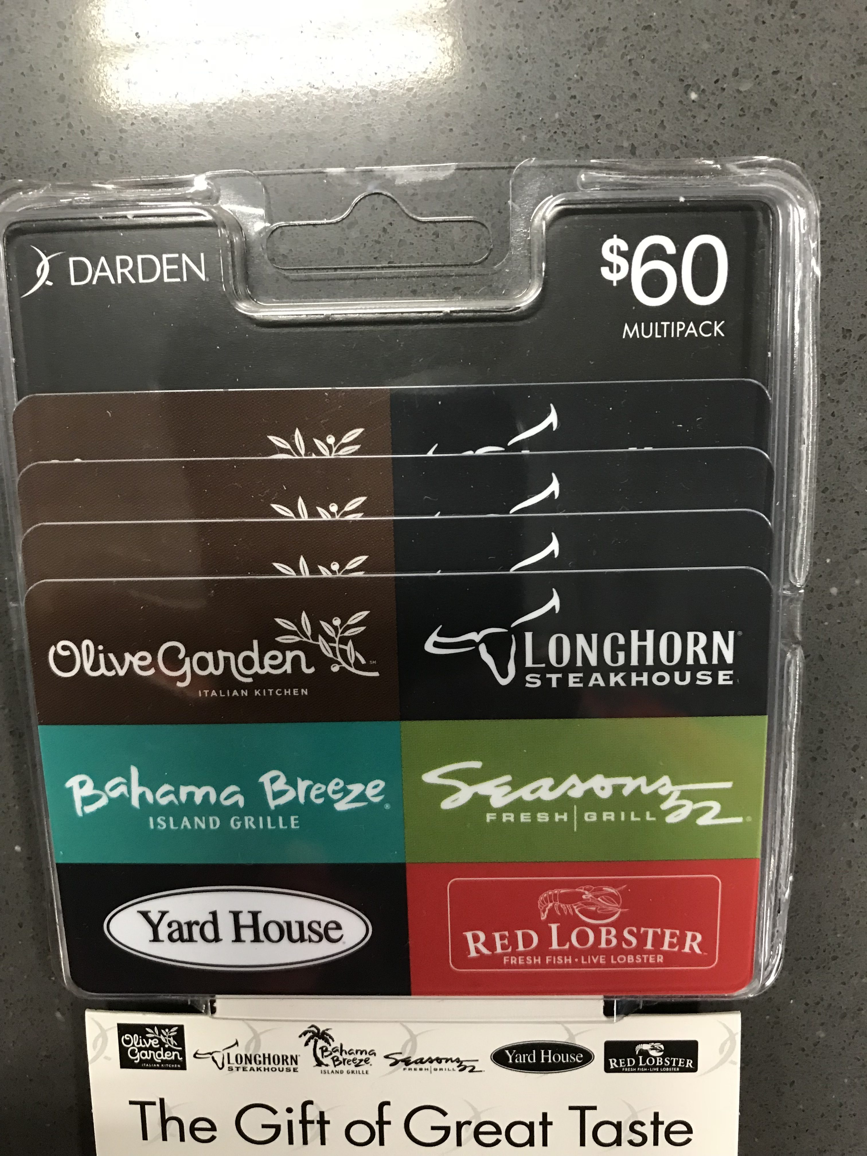 darden gift card value photo - 1